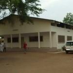 Batiment de consultation réhabilité - Centre de Davougon au BENIN - Avril 2012