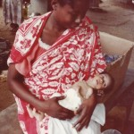 Bébé dénutri de 7 mois pesant 1,7 K au centre Monori aux COMORES