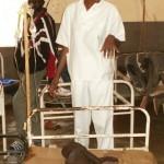 Enfant soigné du choléra au Centre de Garoua au CAMEROUN - Aout 2011