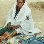La maman et les triplés du centre de Banikoara au BENIN