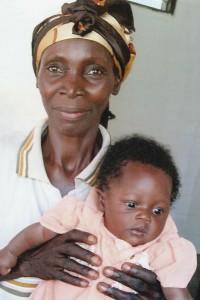 Ma maman est morte, c'est ma Grand Mère qui me garde et votre lait qui me permet de vivre - Centre de Ndelele au CAMEROUN