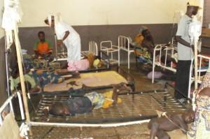 Salle de soin pour les enfants atteints du choléra - Centre de Garoua au CAMEROUN