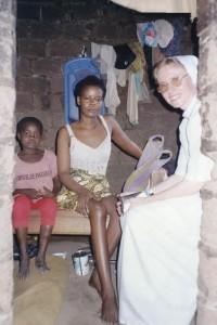 Visite des handicapés - Centre de Tigaza au CAMEROUN