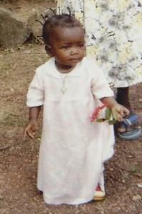 Martine 10 mois - Centre de Bandoro en CENTRAFRIQUE - Février 2004