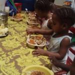 Bon appetit - Ecole de Sophie - Haiti Avril 2010
