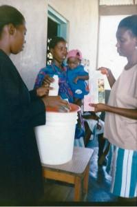 Centre de nutrition de Saint Joseph - Les Gonaives Haiti - Juin 2001