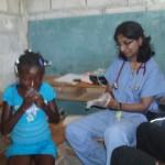 Consultation à l'Ecole de Sophie - Haïti Février 2010