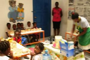 Ecole de Sophie Haiti - Aout 2010