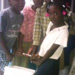 Nous vous remercions pour votre lait - Ecole de Sophie Haiti Avril 2012