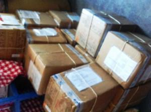 Réception de vos colis acheminés par ASF - Haiti Décembre 2013