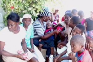 Une journée de consultation à Horizon de l'Espoir - Haiti Juillet 2010