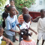 C'est la récréation - Ecole de Sophie - Haiti Décembre 2010