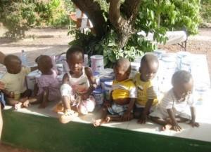 25 Une partie de nos bébés et votre bon lait - mars 2016 - Tintilou BURKINA FASO
