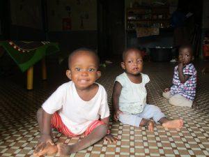Amina, Pauline, Sarata - Dec 2016
